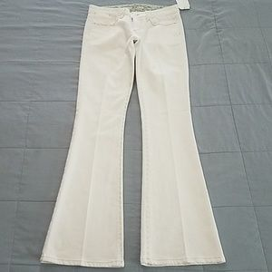 JOES WHITE STRETCH JEANS SIZE 27